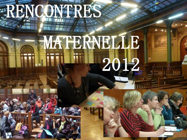 Rencontre parents enseignants maternelle